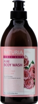 Гель для душа NATURIA РОЗА/РОЗМАРИН PURE BODY WASH (Rose & Rosemary), 750 мл